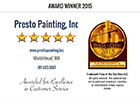 Presto Painting Awards